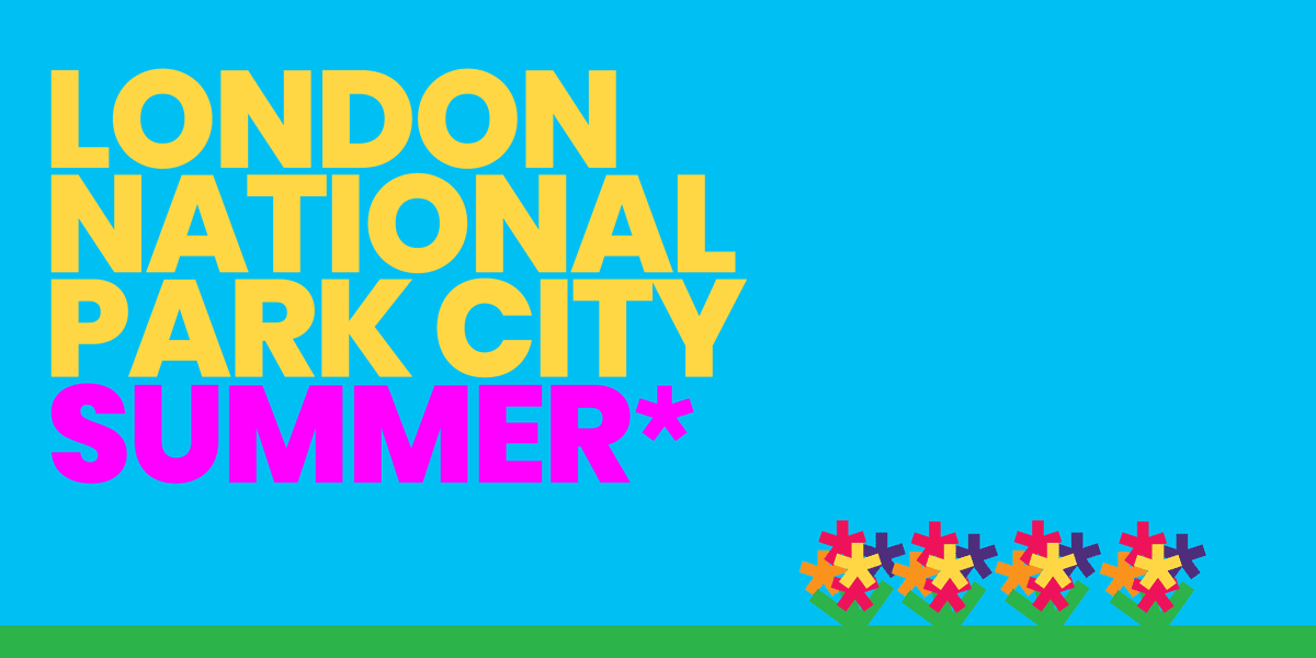 London National Park City Summer