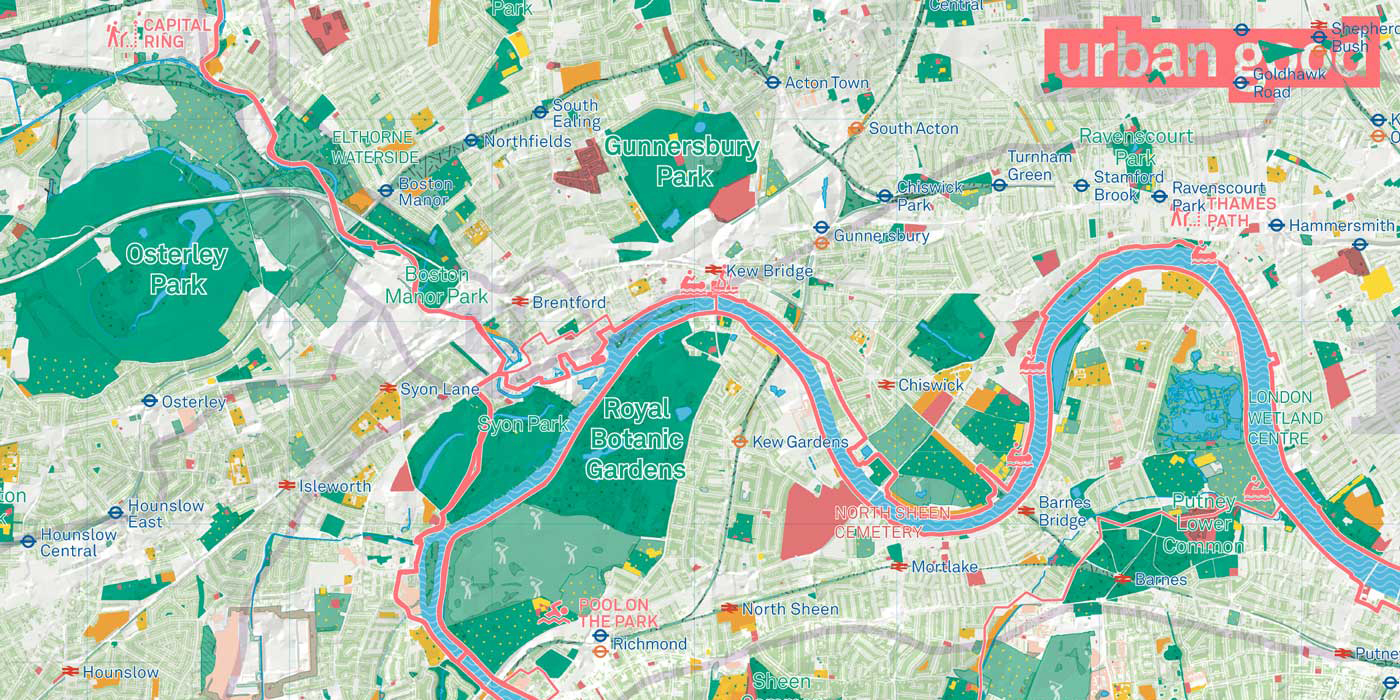 Map To London.Map London National Park City