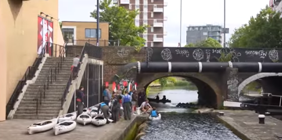 Enjoy London's waterways